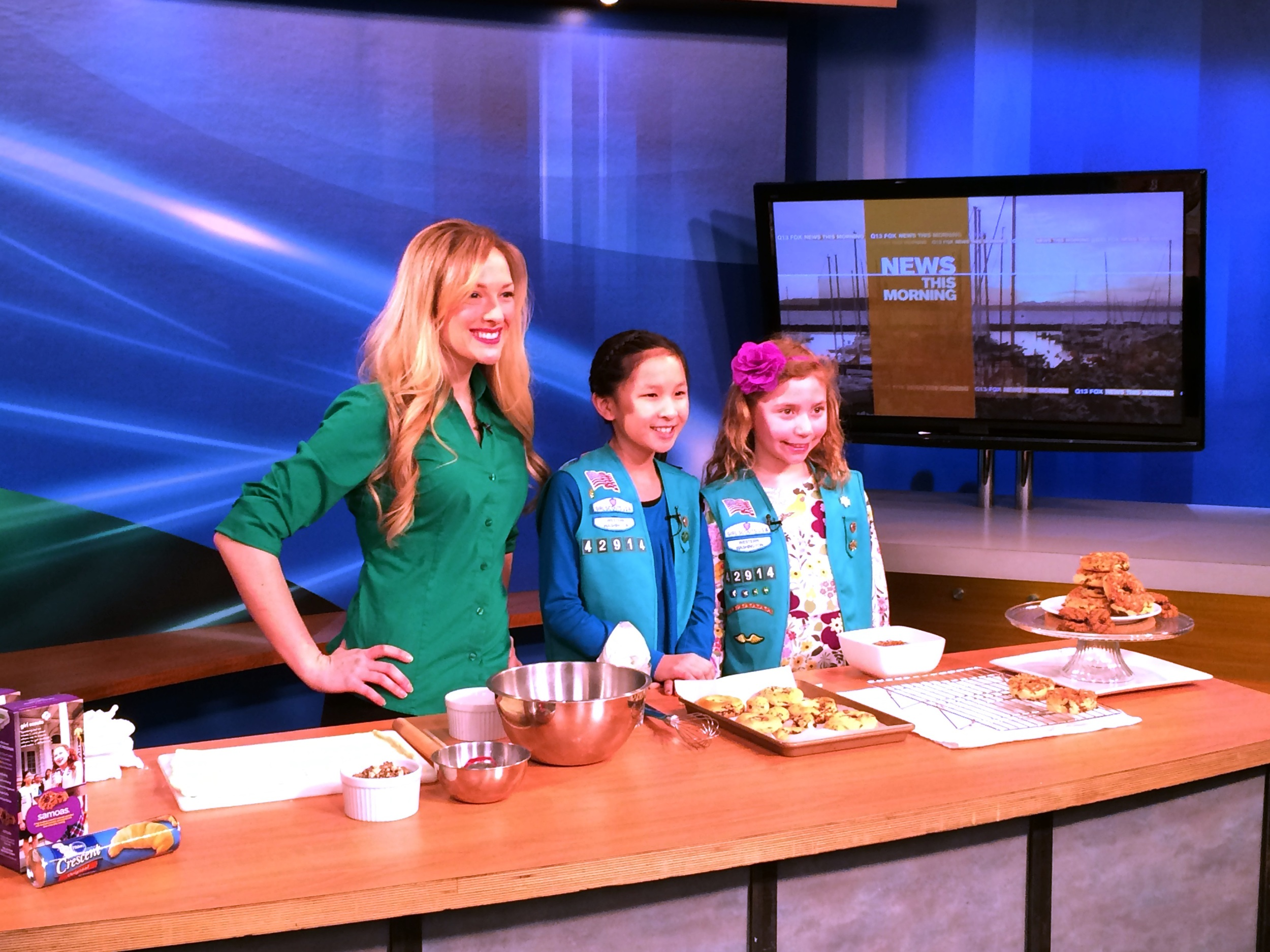 Siiri Sampson, Seattle Food Blogger and Winner of the 2014 Girl Scouts of Western Washington Cookie Recipe Contest