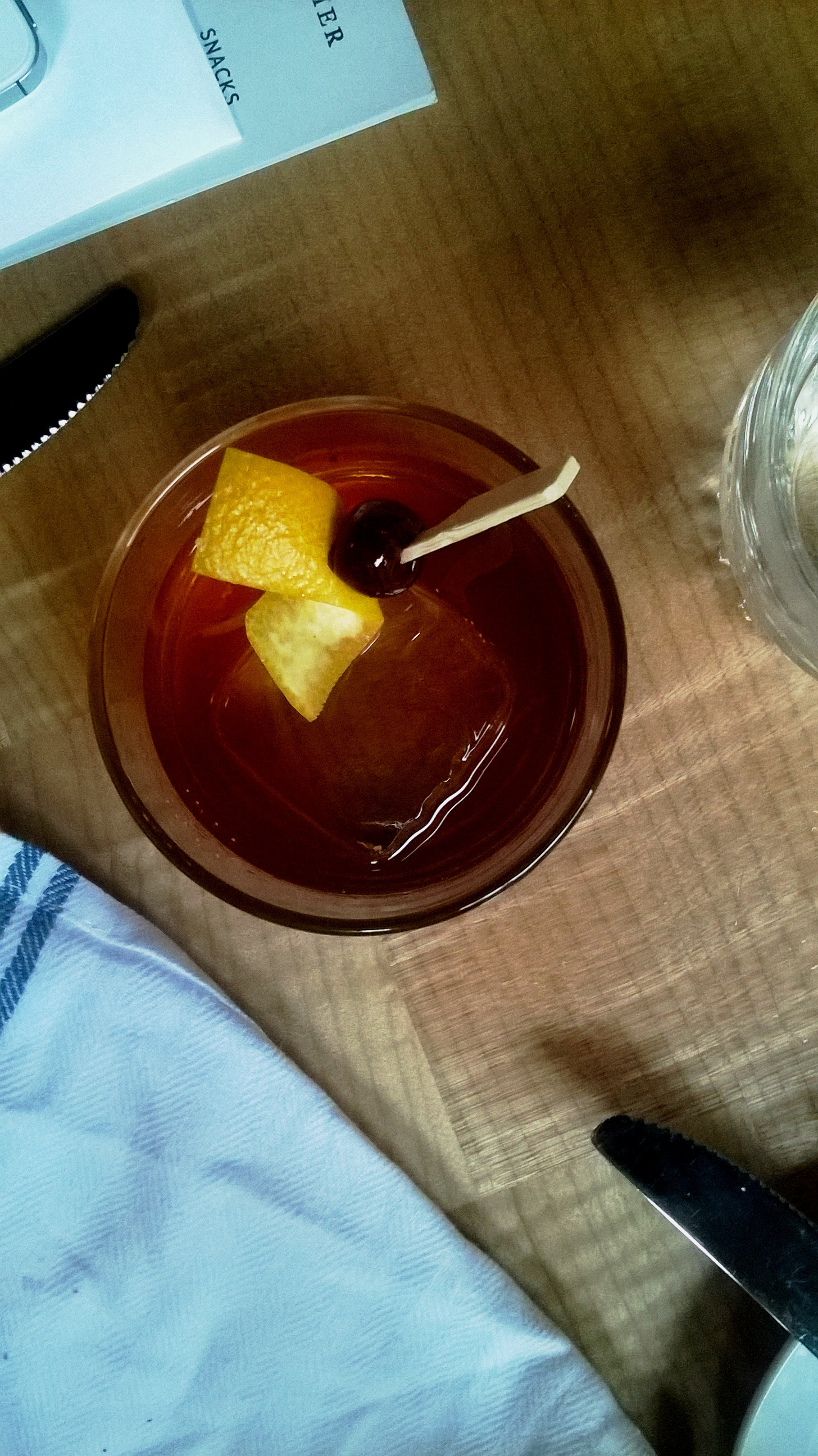 The cocktail of my 30's - The Old Fashioned - has only become better with my age. HA! Copyright 2014 Siiri Sampson. All Rights Reserved.