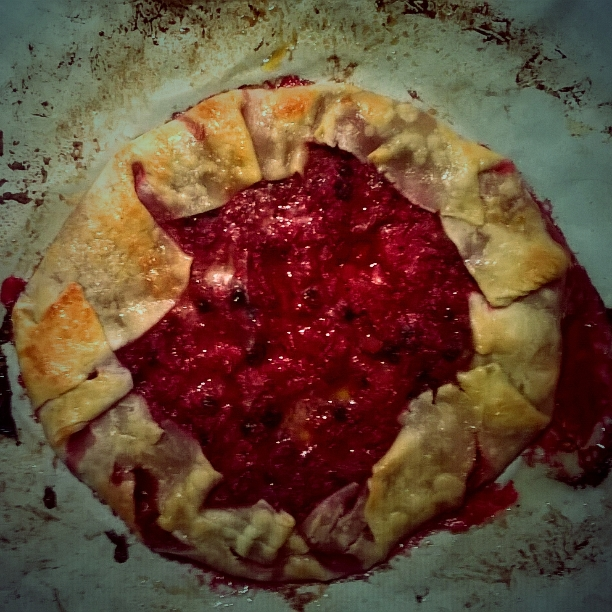 Siiri Sampson Raspberry Galette