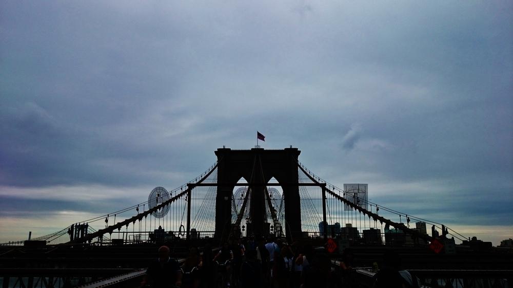 Siiri Sampson Brooklyn Bridge Copyright 2015 all rights reserved
