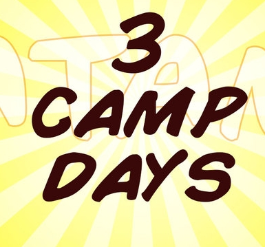 3 Day Camp $315