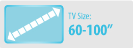 TV Size: 60-100"