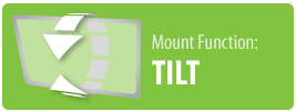 Mount Function: Tilt | Tilt TV Wall Mount