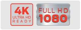 Content Capability: 1080p/4K | UltraThin Indoor Full HD Antenna