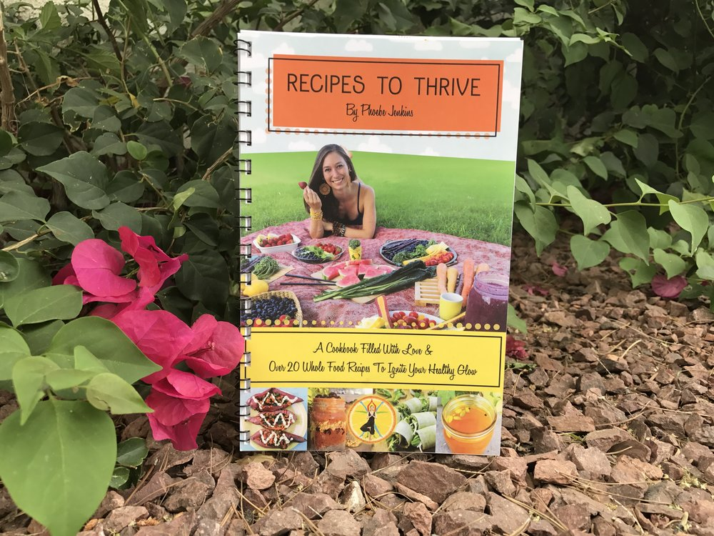 recipes to thrive whole food ignite your glow cookbook