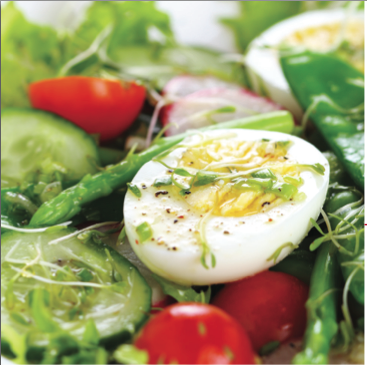 Eggtra Eggciting Breakfast Salad