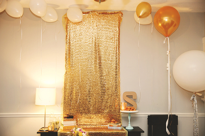 Golden Birthday Vine And Light Central Florida Wedding And
