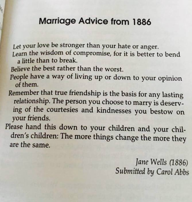 Funny Marriage Quotes For Newlyweds: Marriage Advice That's Not Outdated...Even From 1886