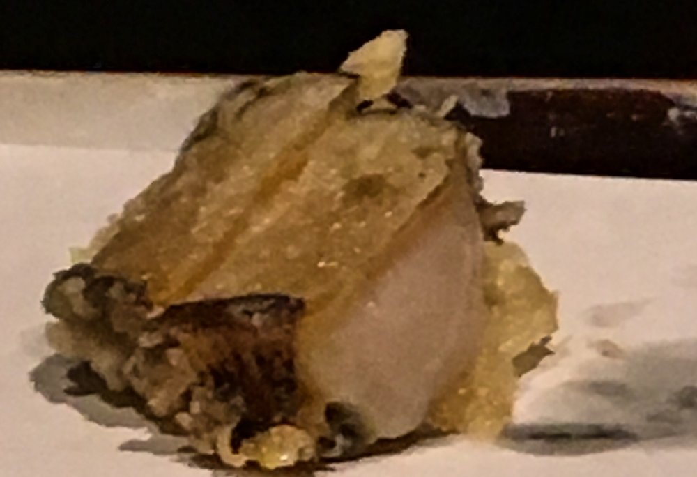 Very tender abalone