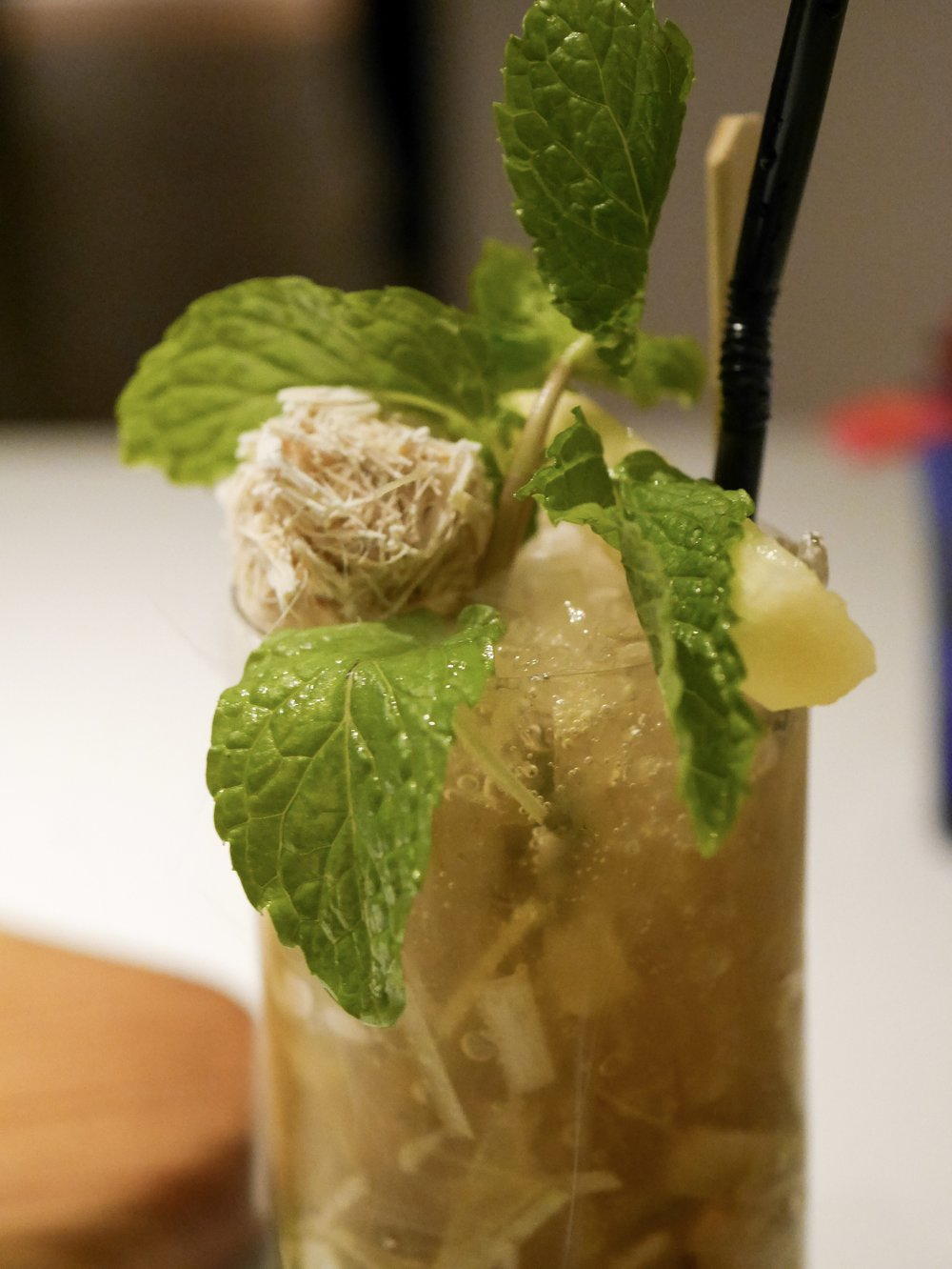 Thai lemongrass non-alcoholic mojito