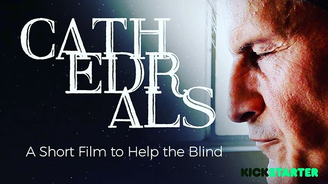 "For the past few months I've been working on raising money for a cool project: a unique take of the Raymond Carver story ""Cathedral"" starring a blind actor that will donate proceeds to organizations that help the blind! @cre_outreach I'll be posting some clips in the coming days. In the meantime, check out our Kickstarter video in my profile to see why this project means so much to me. Some cool people working on this!!! @rubyrubyclaire @baydariz @oliver_thompson @sawhorse_productions @ebenkostbar. #raymondcarver #indiefilm #kickstarter #supportindiefilm #supportindies #blind #disability #crowdfunding #film #blindness #ig"