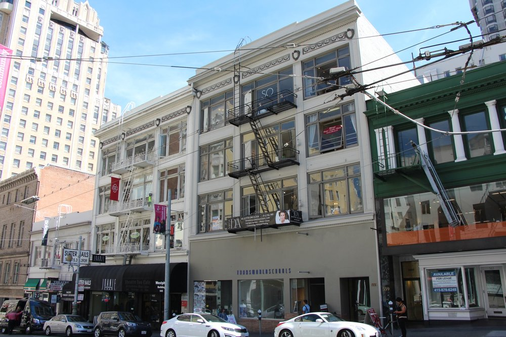 555 SUTTER STREET  - 595-1,082 RSF availableRetail and creative spaceAvailable nowLease rates: $49/sf/yr netTerm: 1-3+ years on flexible terms