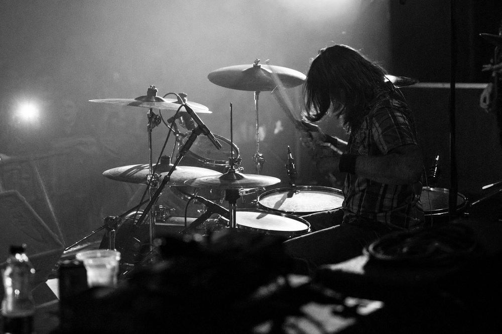 Drummer TJ Taylor, SOiL 2018