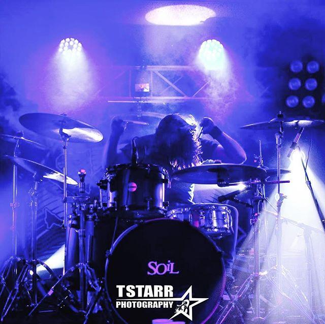 Drum smashin! #SOiLTOUR