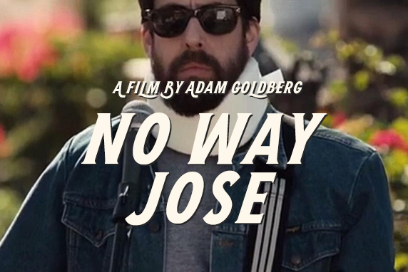 Watch - Adam Goldberg in No Way Jose, his third feature as director. He likes to make them every ten years, after he recovers from the last one.
