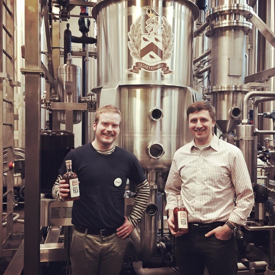 Head Distiller, Seth O'Malley and Founder, Matt Thomas.