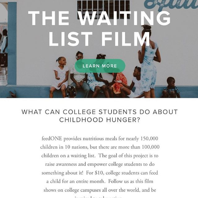 Our website is finally live!  Follow as we share our personal stories from our time in Haiti and find ways to get involved with ending child hunger. Link is in our description { #squarespace #thewaitinglistfilm #haiti #webdesign #tellsastory #childhunger #endchildhunger #visithaiti #twlfilm }