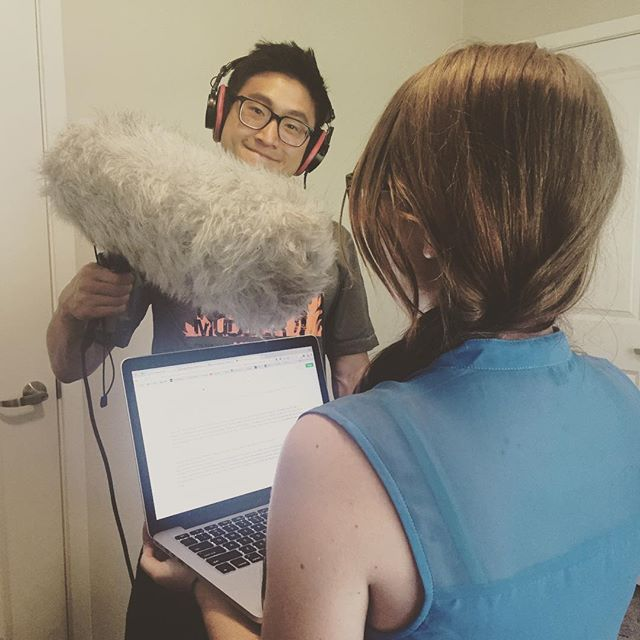 Episode 2's script is recorded! 🤓// This project is stretching us in more ways than we would have imagined. Not only are we learning how to make a documentary but we are learning more about ourselves in the process. Stay tuned!