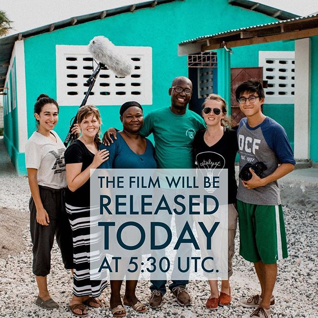 Today is the day! Thanks to The World Missions Summit for giving us an opportunity to premiere our documentary! // #thewaitinglistfilm #twms4 #sent #feedone #hait's #endchildhunger #convoyofhope #documentaries #filmmakers #releasedate #takingresponsibility #collegestudents #chialpha