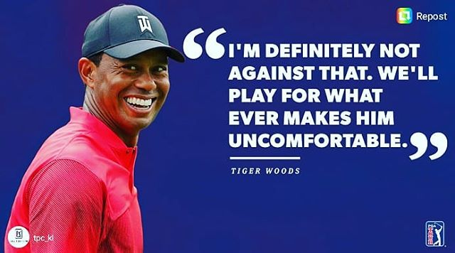 Please do this.  #tigerwoods #philmickelson #playerschampionship