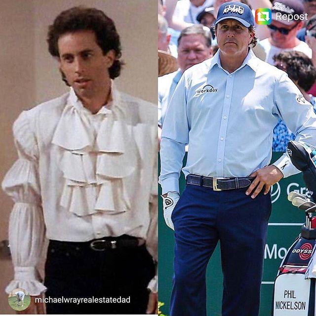 #puffyshirt #golf #golffashion #neveragain #playerschampionship
