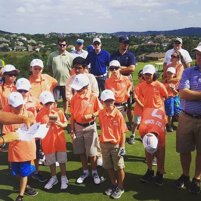 Solid showing at our first #pgajuniorleague #kidsgolf #austingolf #austinindoors #atx #futurepga #golf