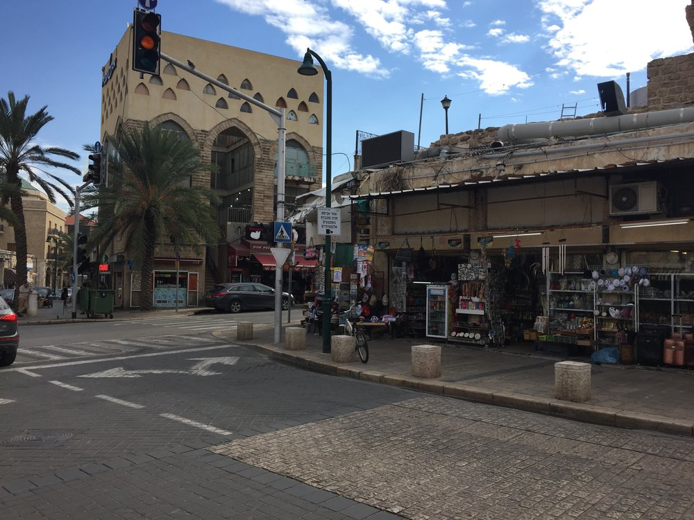 The markets of Jaffa.