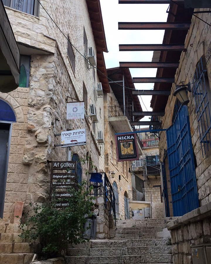 Alleyways of Tzfat.