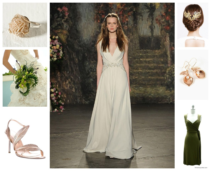 Chicago Wedding Planner Life Science Themed Wedding Bridal Looks