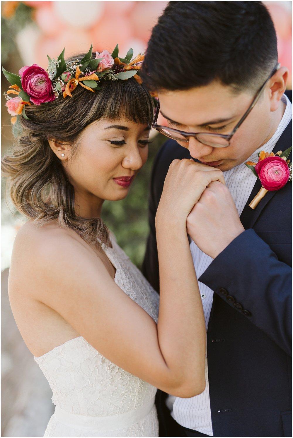 Dillingham Ranch Wedding, Tropical Hawaii Wedding Ceremony, Oahu Hawaii Wedding Ceremony, Hawaii Elopement