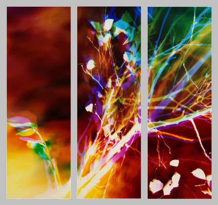 """""""Memento Mori"""" - 90x90 (3 30x90 panels),"""