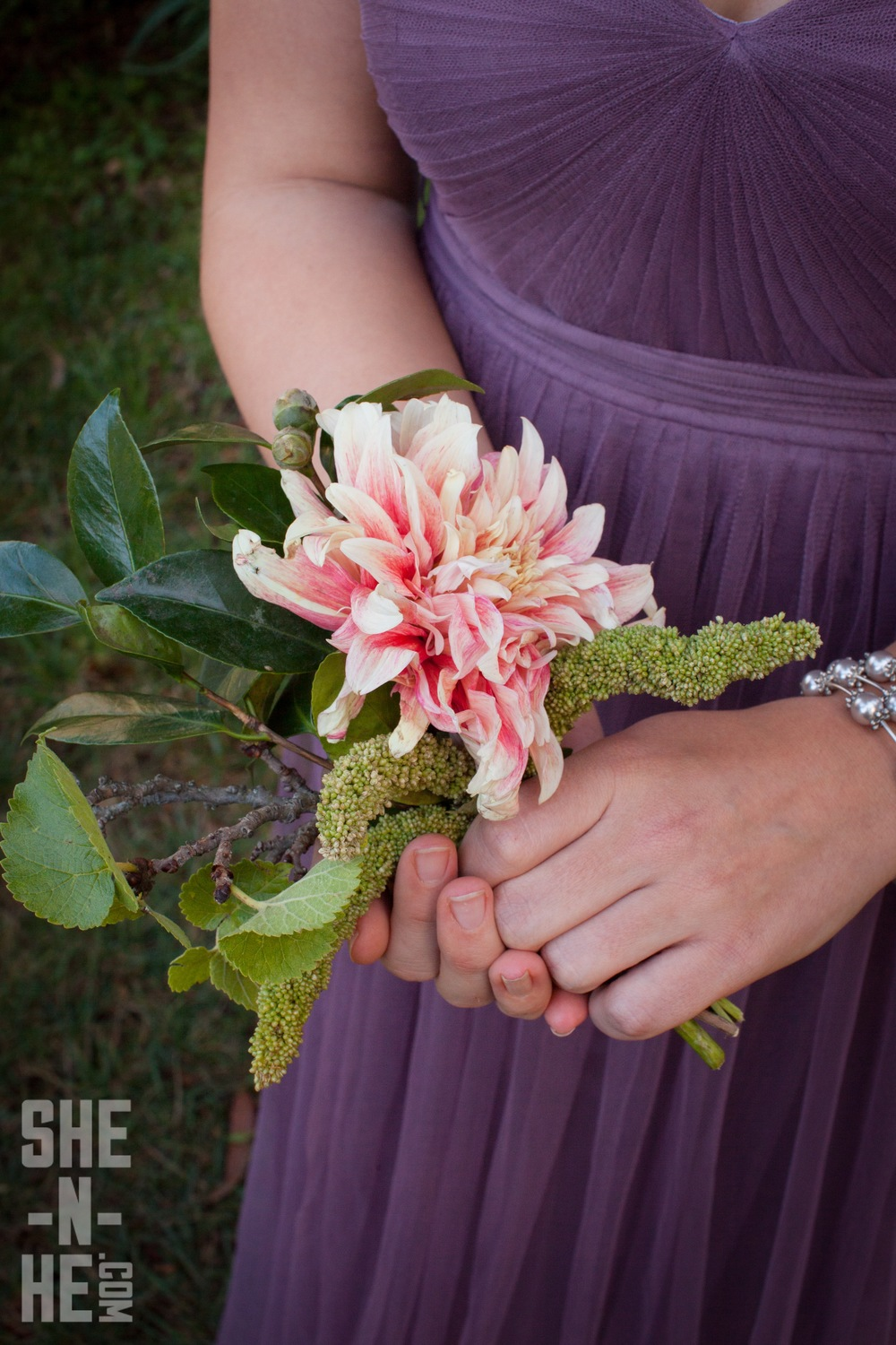 Bridesmaids Bouquet by Big Sur Flowers
