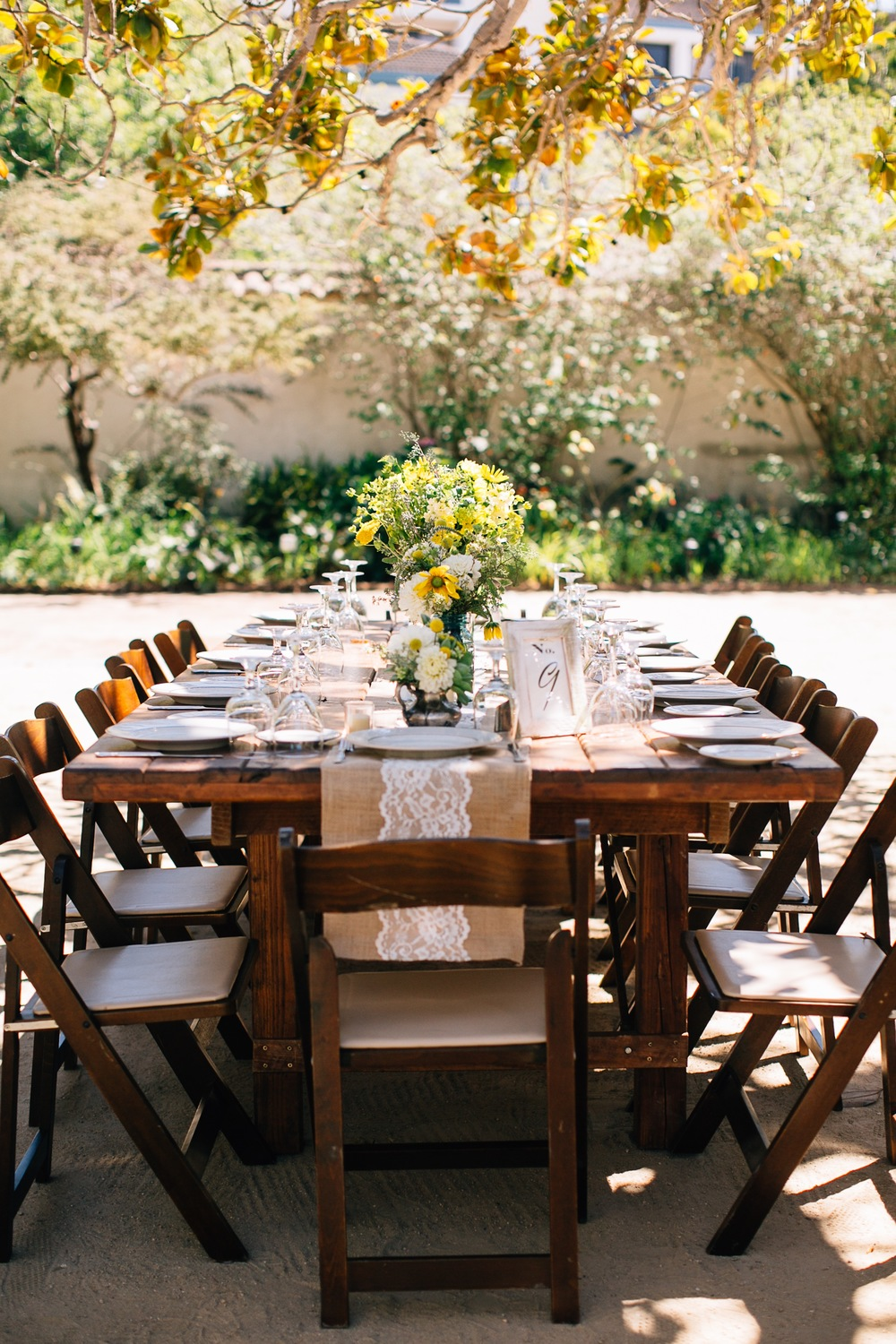 Wedding Dinner Table Decor by Kate Healey