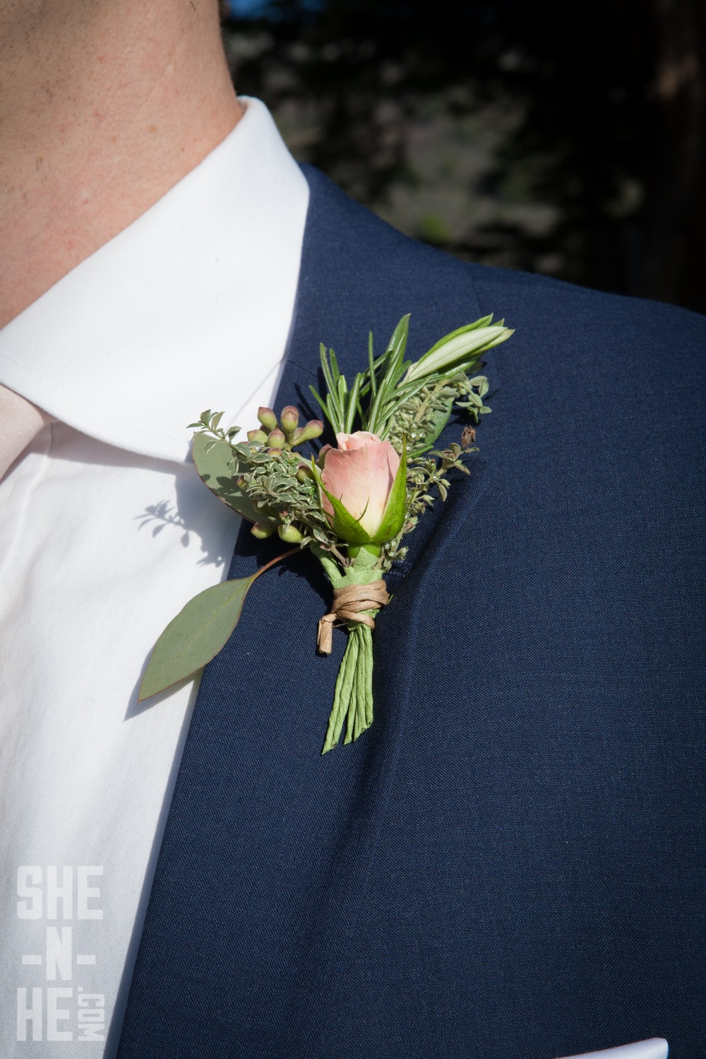 Boutonniere by Kate Healey
