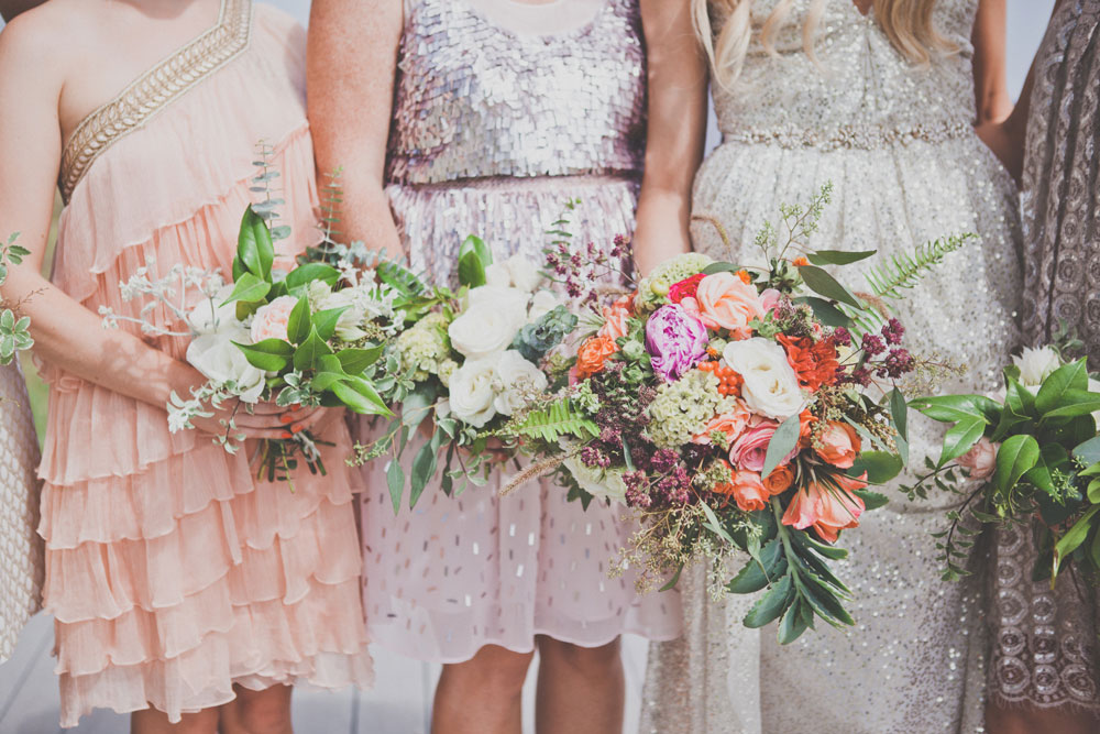 Bridesmaid's Bouquets by Kate Healey