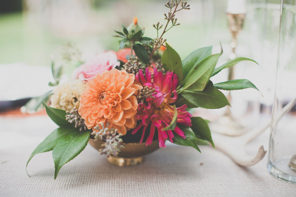 Wedding Banquet Table Decor by Kate Healey
