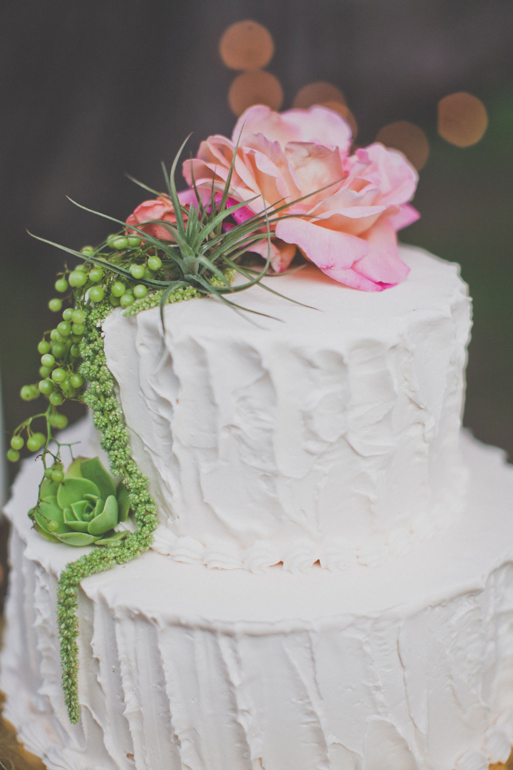 Wedding Cake Flowers by Kate Healey