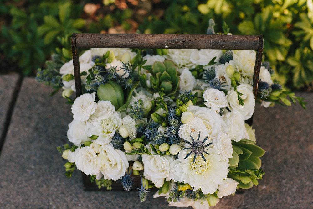 Flowers by Kate Healey for a Holman Ranch Wedding
