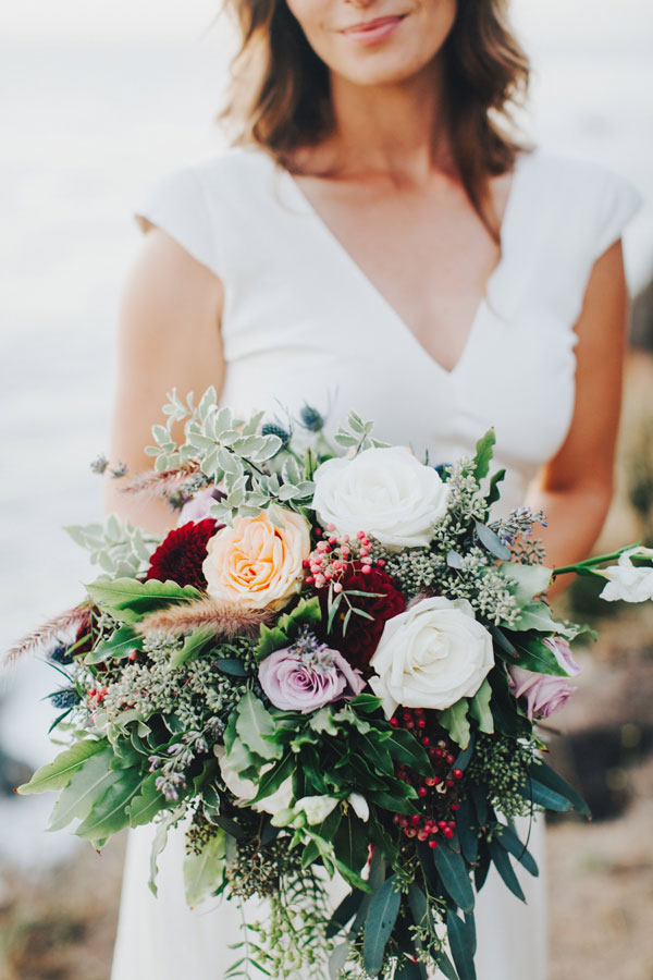 Autumn Wedding Bouquet by Kate Healey