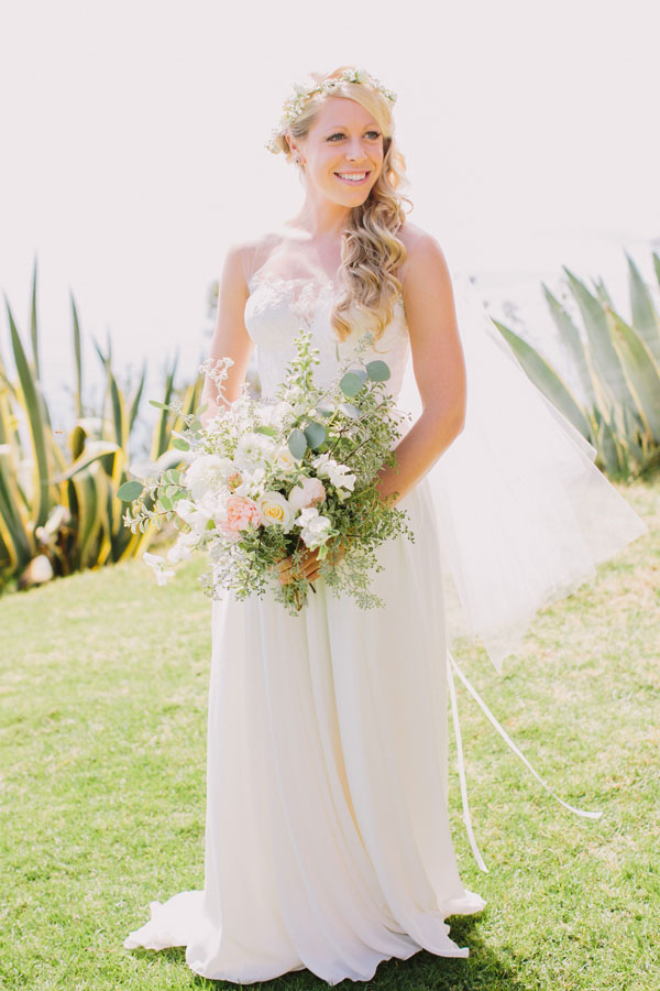 Point 16 Wedding with Bouquet by Kate Healey