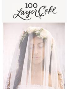 100 Layer Cake - California Garden Wedding