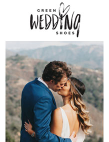 Green Wedding Shoes - Katie and Davids Big Sur Wedding