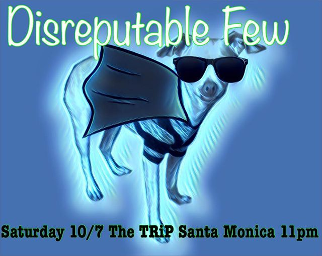 Oops wrong date on the last one! Thanks @curtiscockrell81  hope to see you guys THIS Saturday night 11pm. The TRiP in Santa Monica #mrzeus #livemusic #jamband #thetrip #santamonica