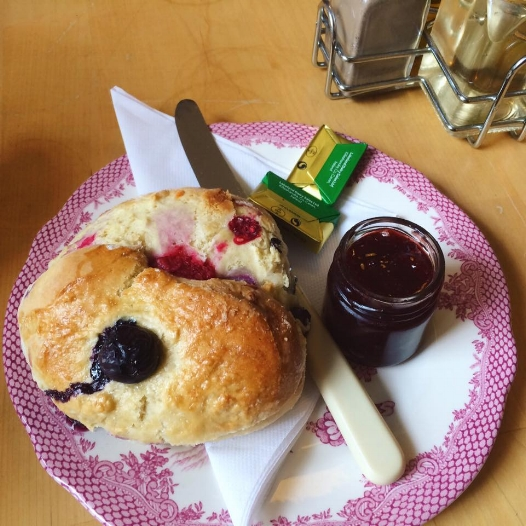 Make sure to try the Special Scone they have on the menu. :)