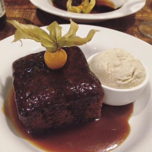 Sticky Toffee Pudding from the Doll's House.