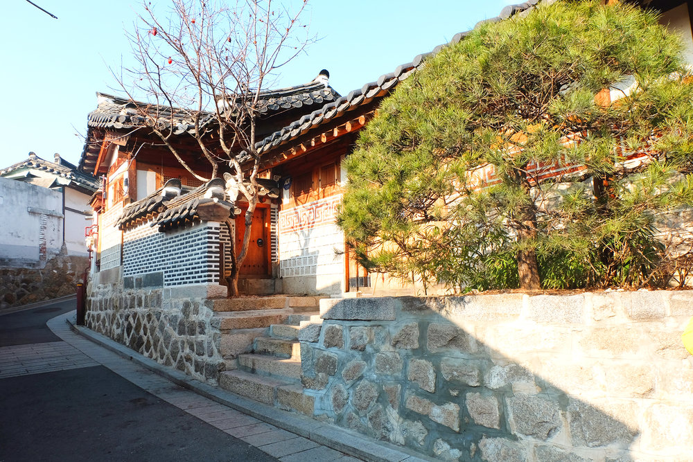 Too picturesque of a house! Here's some other footage of the Bukchon Hanok trip: