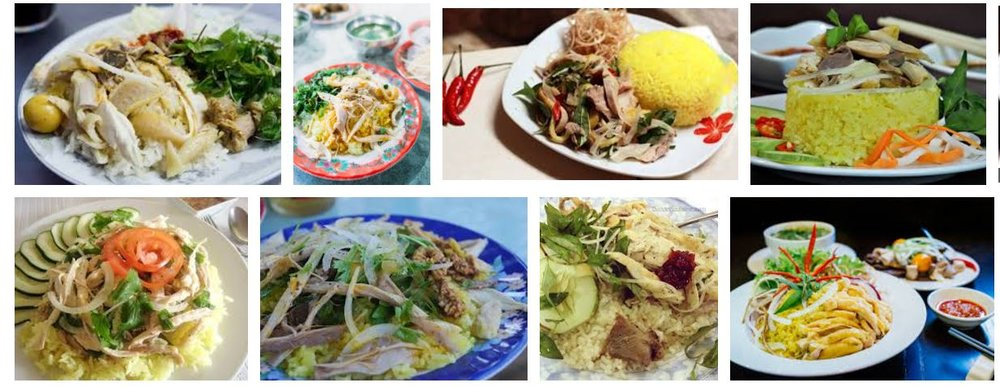 "Google Image's return for the query ""Com Ga Hoi An"" (Hoi An Chicken Rice) Source: Google.com"