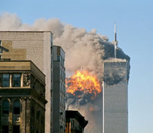 United Airlines' Flight 175 Hitting South Tower, 9/11/2001