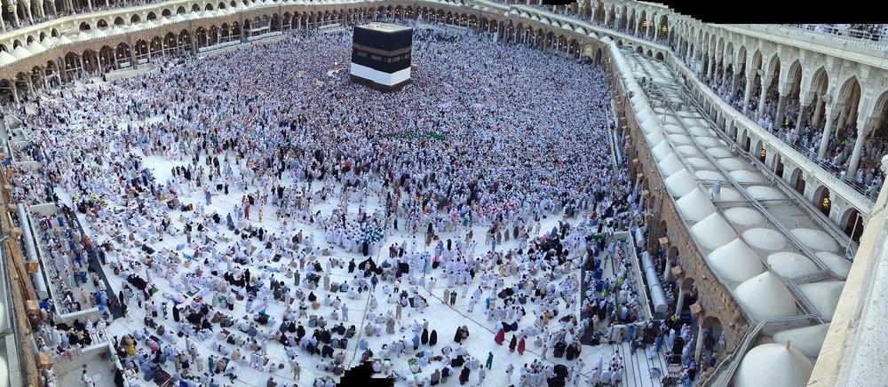 Kaaba,Mecca, Saudi Arabia