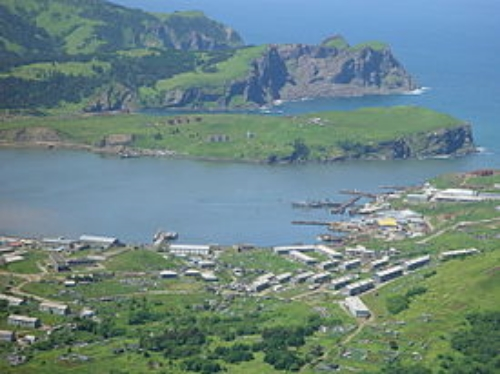 Main Russian Main Village in Shikotan, Kuril Islands (Надежда Голумбиевская)